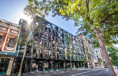 West Hotel Sydney facade