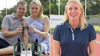 Sally Pearson opens up about pregnancy joy