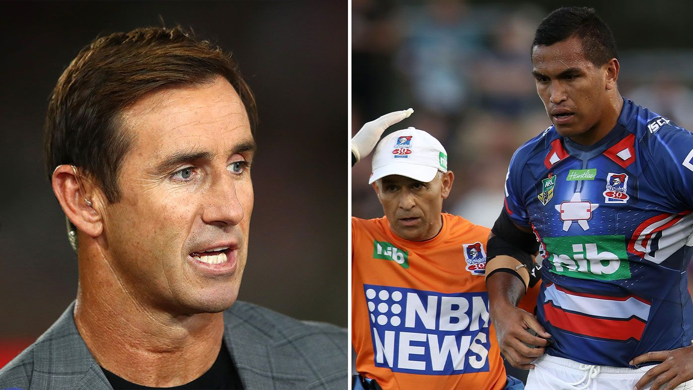 EXCLUSIVE: Andrew Johns urges NRL to reduce the interchange rule down to six