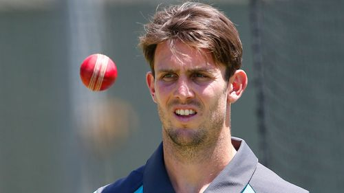 Mitch Marsh would be a radical choice. (AAP)