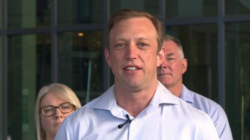 Queensland Deputy Premier Steven Miles spoke on reports of a case in Brisbane at a press conference this morning.
