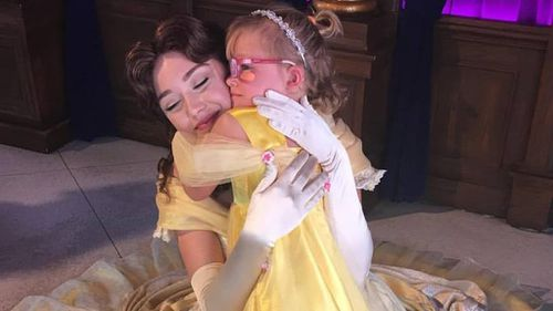 A Disney employee organised a day at Disneyland for Cailee after she saw her Facebook page. (Facebook)