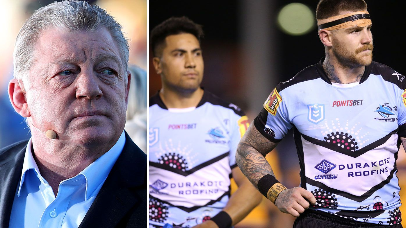 'Deluded about how good they are': Phil Gould puts Sharks big names on blast