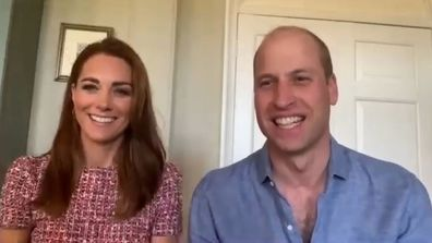 Prince William and Kate Middleton, Duke and Duchess of Cambridge video call staff at Fraser Health's Surrey Memorial Hospital in British Columbia for Canada Day