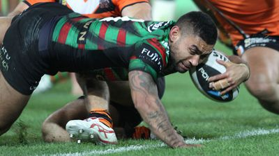 <strong>2. Nathan Merritt – 154 tries for Souths and Cronulla 2002-2014</strong>