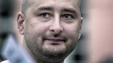 Arkady Babchenko. (AAP)