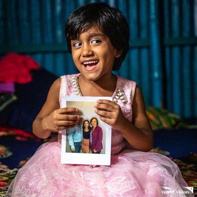 Sponsor a child through World Vision Chosen, $48 monthly