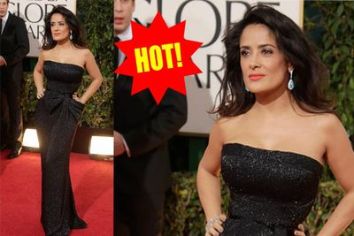 Kinda predictable for Salma, but nonetheless flattering.