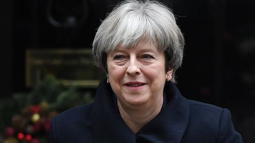 UK Prime Minister Theresa May is also not included on the guest list. (AAP)