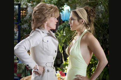 <b>Movie: </b><i>Monster-in-Law<br/></i>Jane Fonda's movie comeback after 16 years wasn't quite the right vehicle to show off the celebrated double-Oscar winner's real dramatic talents. Unless snarling and plotting against J.Lo as a mother-in-law-from-hell is a talent ... but we'd have probably done the same thing if faced with such a naff script! Not to mention yet another bland, nice-girl performance from J.Lo ...