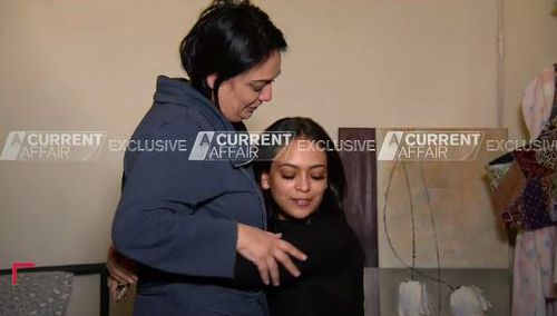 Nadia and Allewea are now in hiding from their family. Picture: ACA