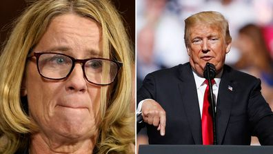 US President Donald Trump confirms FBI investigation intp Brett Kavanaugh's alleged sexual assault of Dr Christine Blasey Ford