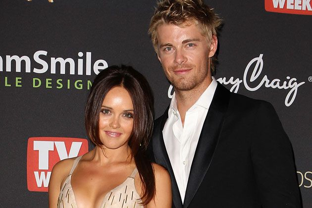 Home And Away Stars Luke Mitchell Rebecca Breeds Engaged