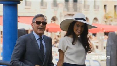 Amal and George Clooney hold hands during casual Lake Como stroll, are still the cutest
