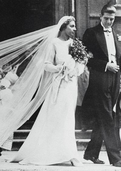 Infanta Beatriz of Spain, married 1935