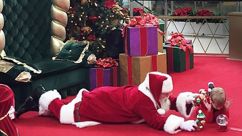 US mother praises Sensitive Santa program which helped her son with autism