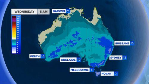 190527 Australia cold weather snow ski fields BoM forecast news NSW Victoria