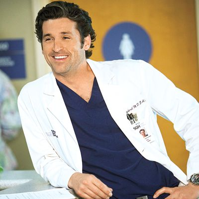 Patrick Dempsey as Derek Shepherd: Then