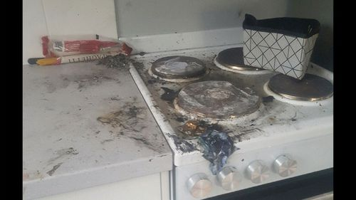 Ms Christie claims Peremai set fire to her kitchen.