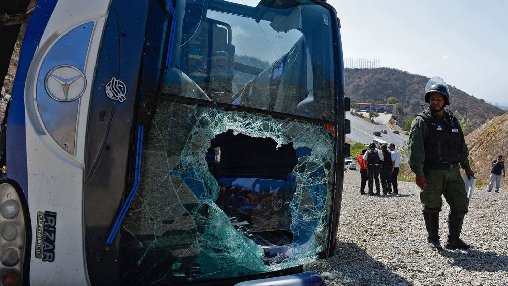 Club side's bus overturns in Venezuela