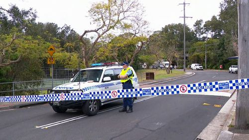 Emergency services found the woman's body at 12.30am in the unit block in Sutherland Shire.
