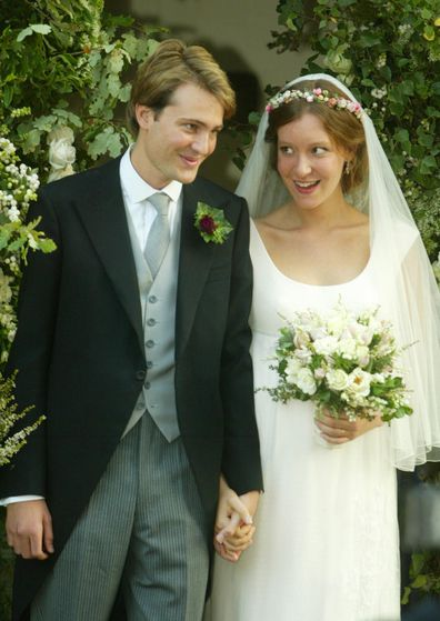 Ben Goldsmith and Kate Rothschild were married at St Mary's Church, Bury St Edmunds, Suffolk back in 2003