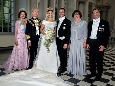 Crown Princess Victoria marries Daniel Westling