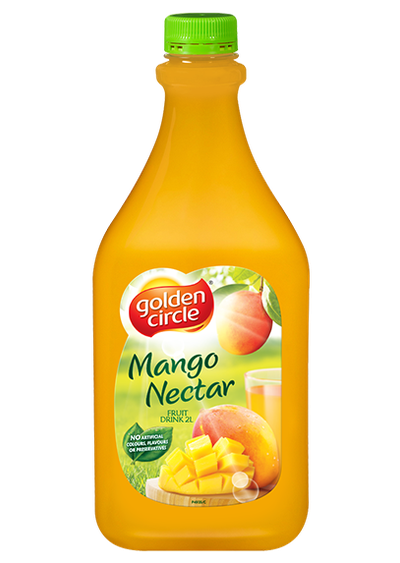 <strong>Golden Circle Mango Nectar = 11.7 grams of sugar per 100ml</strong>