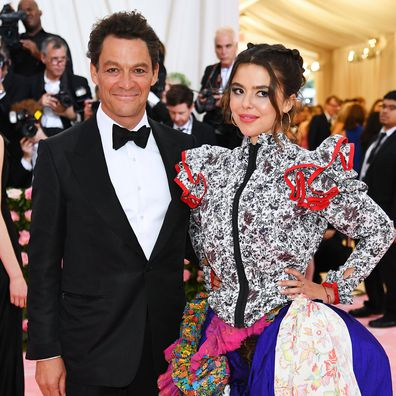Dominic West and Martha attends The 2019 Met Gala Celebrating Camp: Notes on Fashion at Metropolitan Museum of Art on May 06, 2019 in New York City.