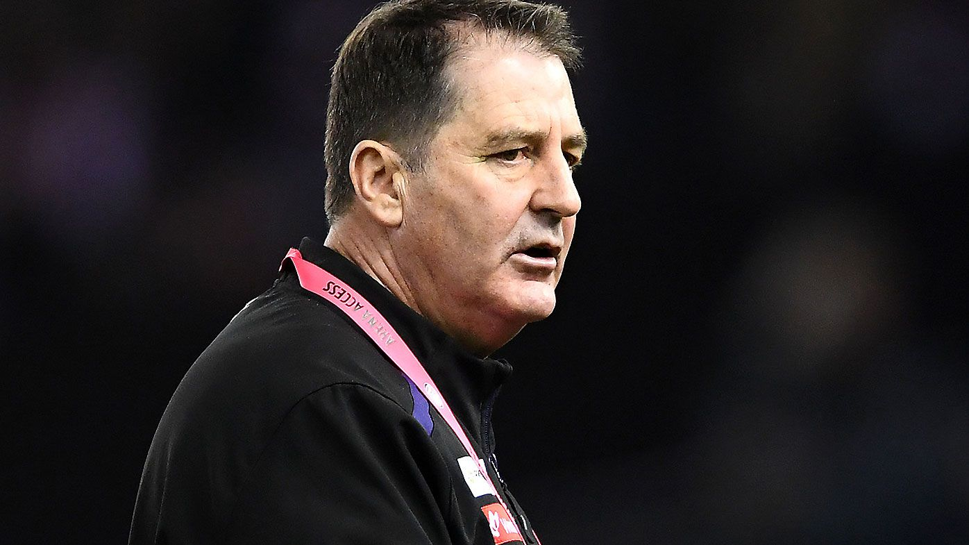 Ross Lyon pulls out of Carlton's head coaching search