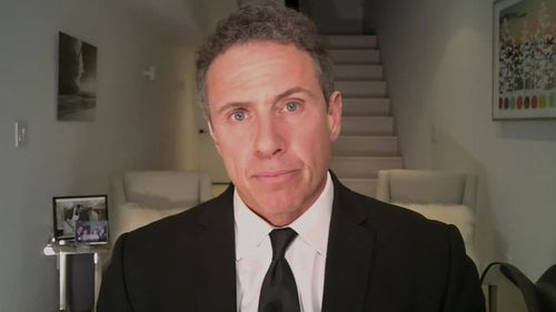 CNN anchor Chris Cuomo, brother of New York Governor Andrew Cuomo, has tested positive for coronavirus but will do his prime-time show from his basement, where he has self-quarantined.
