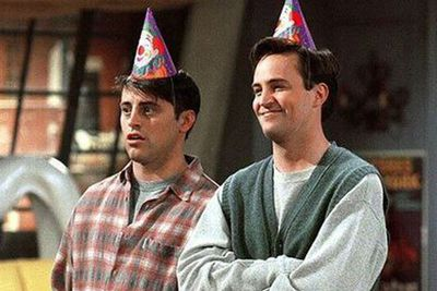 ...and they wanted Chandler to be gay!<br/><br/>However after meeting Matthew Perry, they decided to stick to gay mannerisms before marrying him off to Monica.<br/>