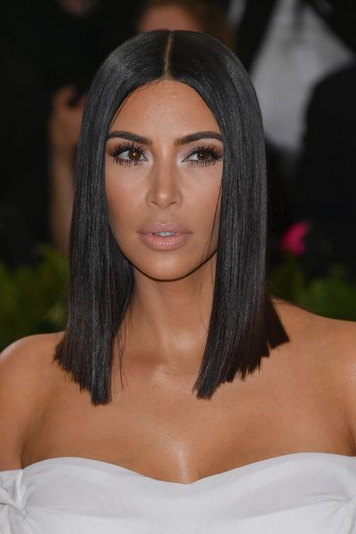 Reality star Kim Kardashian toted a flawless dusky pink lip at this year's Met Gala.