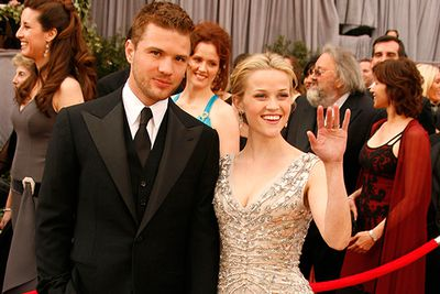 Everyone's favourite teenage couple attended two Academy Award ceremonies by each other's side during their seven-year marriage.  In 2006, Reese won the best actress award for <i>Walk The Line</i>, with the couple splitting later that year, adding Reese to the superstitious list of women struck by the Oscars Love Curse. <br/>