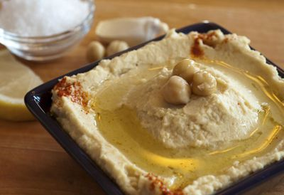 "Recipe: <a href=""http://kitchen.nine.com.au/2016/05/20/10/23/easy-peasy-hummus"" target=""_top"">Easy peasy hummus</a>"