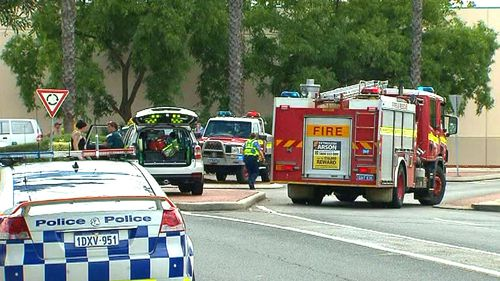 Emergency services are at the scene. (9NEWS)