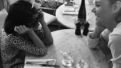 'My sweetie' Katie Holmes captioned this family photo with daughter Suri, 11. Image: Instagram