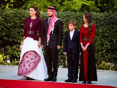 Queen Rania marks Jordan's 70th Independence Day with her family, 2016
