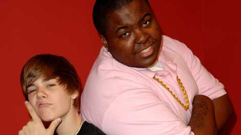 Justin Bieber and Sean Kingston