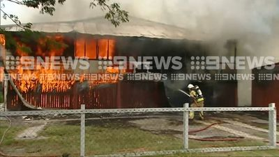 Teen arrested after Gold Coast house destroyed by fire