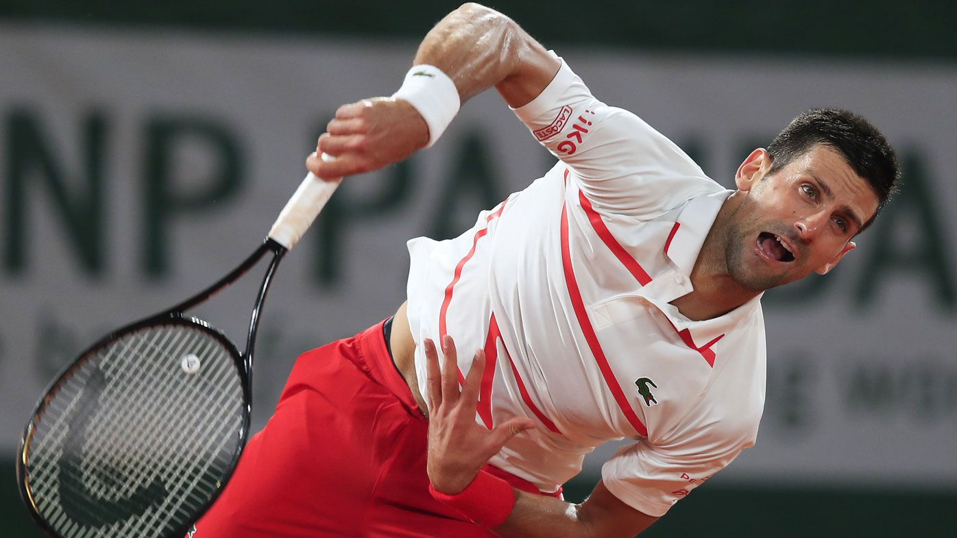 Novak Djokovic 'suffocates' opponent in first round French Open win, Slam return