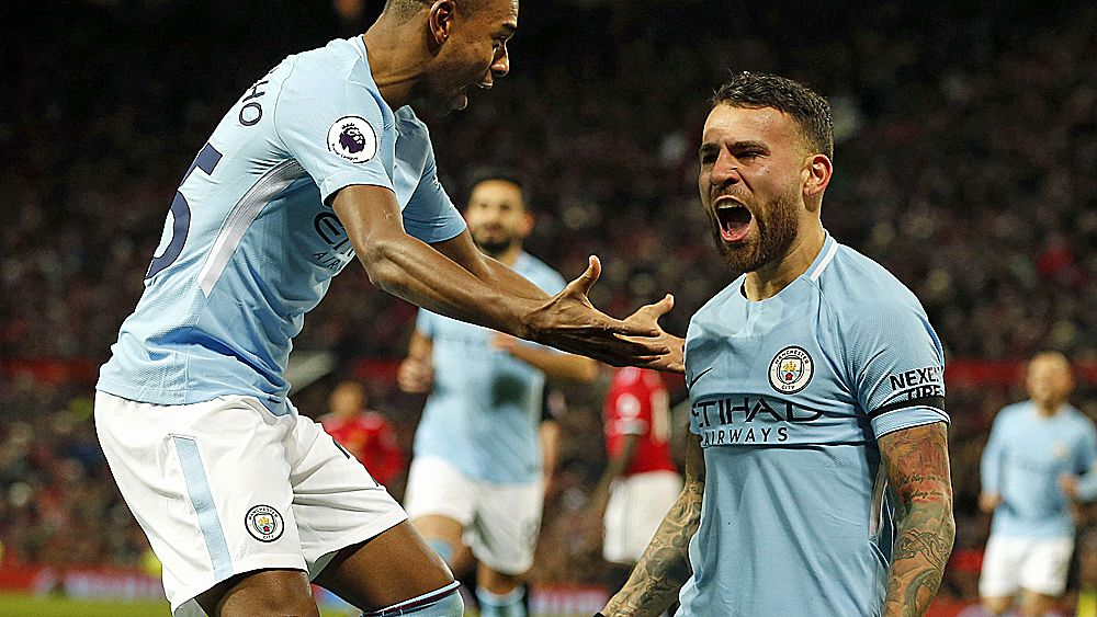 EPL: Manchester City go 11 clear in English Premier League after derby domination over United