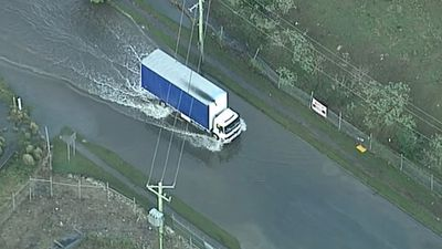 Emergency services have expressed frustration after motorists ignored a long-running safety campaign and drove across flooded roads. (9NEWS)