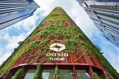 <strong>Best tall building worldwide: Oasia Hotel Downtown, Singapore</strong>