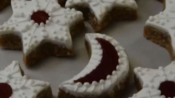 The royal pastry chefs shared the recipes for their 'Cinnamon Stars'