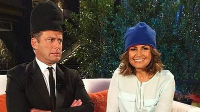 TODAY show hosts Karl Stefanovic and Lisa Wilkinson.
