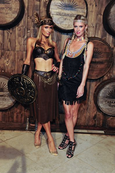 Paris Hilton, Nicky Hilton, Halloween