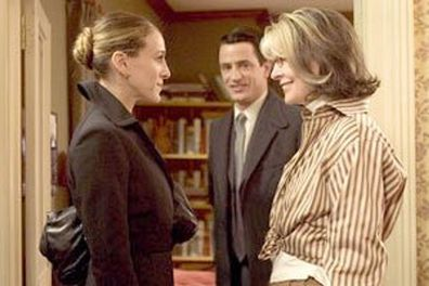 Christmas moiies, advent, calendar, Sarah Jessica Parker, Dermot Mulroney and Diane Keaton star in The Family Stone.