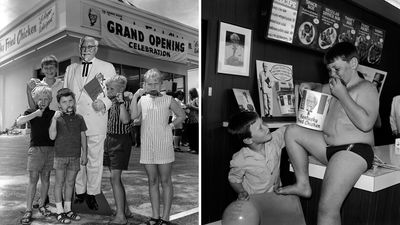 KFC celebrates 50 'finger lickin' good' years in Australia