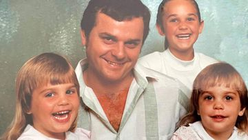 Charles Cernobori, the 59-year-old father and grandfather, pictured with his three daughters.